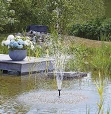 solar powered garden pumps for ponds