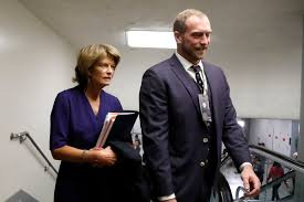 Murkowski and other moderates team up at Trump impeachment trial -  Anchorage Daily News