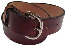 mens leather belt size 36 choose color