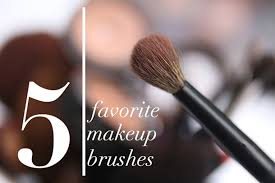 what are your 5 favorite makeup brushes