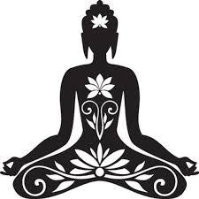 Yoga Decal Namaste Decal Meditation Decal Lotus Flower Decal Buddha Decal Laptop Decal Car Decal Window Decal In 2020 Buddha Art Buddha Painting Silhouette Art