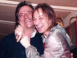 La cantante Gianna Nannini con il fratello Alessandro
