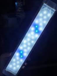 Đèn LED 4 Hàng Trắng Xanh cho hồ cá thủy sinh 40Cm - Trắng