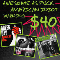 Green Day-related holiday vinyl bundles from Adeline Records