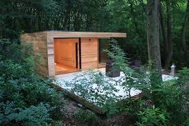 modern backyard office projects that