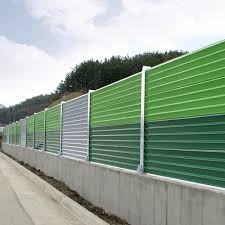 Fixed Competitive Price High Quality Steel Fence Panels Triangular Cone Noise Barrier Jinbiao Manufacturers And Suppliers Jinbiao