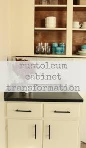 rustoleum cabinet transformation