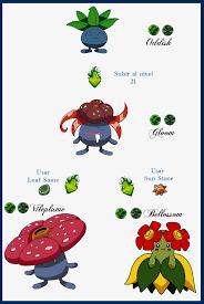 Evolution: Oddish Evolution Chart