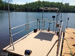 Pontoon Boat Restoration And Railing Upgrade Simplified Building