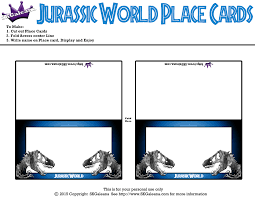 Http Skgaleana Com Free Jurassic World Printables Activities And