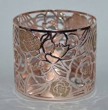 3 wick 14 5 oz candle rose gold roses