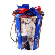 teddy bucket 170g famous amos