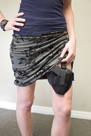 thigh holster by the well armed woman