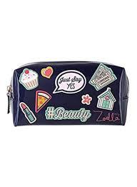 zoella beauty sticker me makeup purse