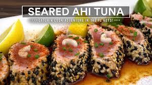 Seared AHI TUNA Recipe - Catch n Cook ...