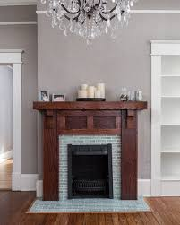 custom fireplace mantel arts crafts
