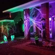 Indoor Outdoor Spider Webs for Halloween Costume party table Centerpieces  Bar Haunted House kid birthday Decoration Scene Prop - aliexpress.com -  imall.com
