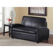 faux leather loveseat sleeper