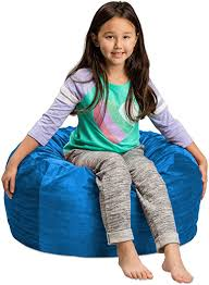 Amazon Com Sofa Sack Plush Ultra Soft Kids Bean Bag Chair Memory Foam Bean Bag Chair With Microsuede Cover Stuffed Foam Filled Furniture And Accessories For Kids Room 2