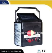 China 3km Solar Powered Fence Energizer For Farm Sfc Kc S010 China Solar Fence Controller And Solar Farm Electric Fence Energiser Price
