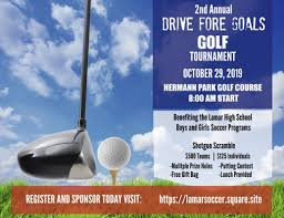 drive fore goals golf tournament the