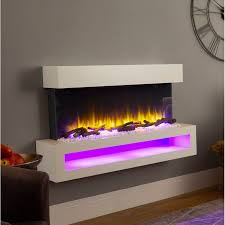 nickolas wall mounted electric fire
