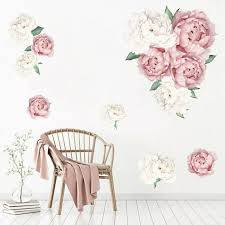 Red Rose Diy Home Art Wall Decal Decor Room Sticker Vinyl Removable Paper 45x60cm Nursery Decor Kids Room Mural Decal Wall Stickers Aliexpress