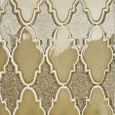 iced gold arabesque gl mosaic