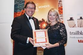 Sophie Hansen with Troy Grant MP   nswruralwomensnetwork