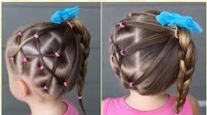 للبنات الصغار تسريحات شعر للمدرسة بسيطة