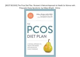 BEST BOOKS] The Pcos Diet Plan, Revised: A Natural Approach to Heal…