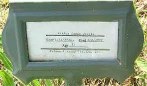 JACOBS, ARTHUR DUANE - Carroll County, Arkansas   ARTHUR DUANE JACOBS -  Arkansas Gravestone Photos