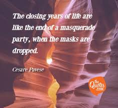 the closing years of life are like the end of cesare pavese quotes