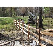 Wood Split Rails Cedar In 2020 Western Red Cedar Cedar Split Rail Fence Red Cedar