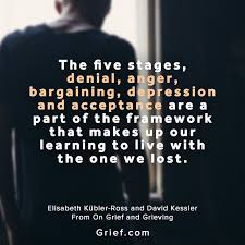 com the five stages denial anger quotes by elisabeth