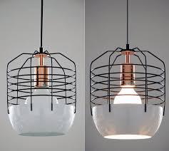 gatsby artdeco style cage pendant light