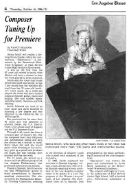 About the Composer — Selma Moidel Smith