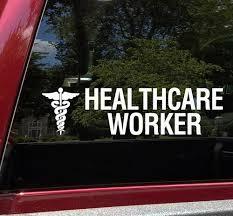 Caduceus Symbol Vinyl Decal Medical Logo Medicine Nurse Er Icu Doctor Die Cut Sticker