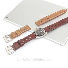 22mm cow leather cuff watch band for