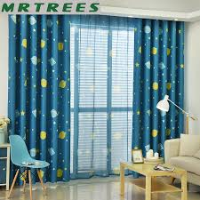 2020 Cartoon Star Printed Curtains And Tulle For Kids Room Children Bedroom Blackout Curtain For Living Room Sheer Curtain From Qygw Gt 23 52 Dhgate Com