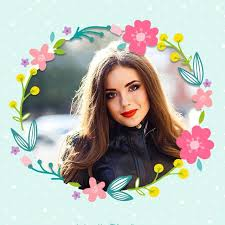 flower photo frames for android free