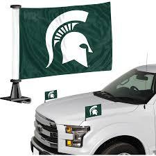 Michigan State Spartans Auto Ambassador Flag Set