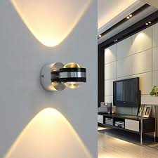 coocnh 6w led wall light indoor up and
