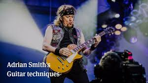 Adrian Smith's Guitar Techniques | Articles @ Ultimate-Guitar.Com ...