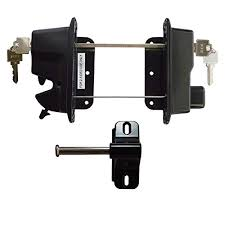 gate locks for wooden fence com