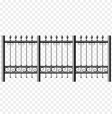 Download Transparent Iron Fence Clipart Png Photo Toppng