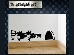 Cinderella Mice With Kingdom Key Decal Vinyl Wall Sticker Etsy