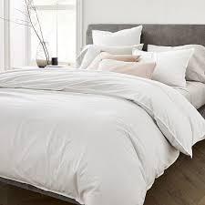 gray bedding promotional event west elm