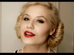 tutorial authentic 1950s makeup you