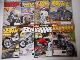 hot rod bike cycle world 8 back issues